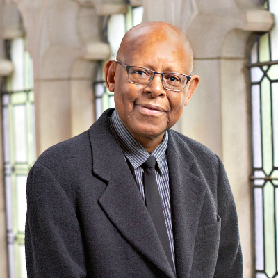 James Cone; photo from Union Theological Seminary